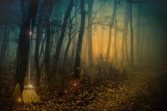 Саббат ведьм Стоковое Изображение RF