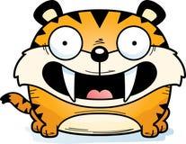 Сабл-Toothed усмехаться тигра иллюстрация штока
