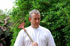 садовник готовый для работы Стоковые Изображения RF