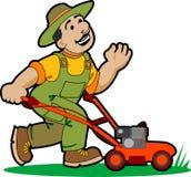 садовник шаржа Стоковые Фотографии RF