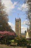садовничает башня victoria westminster london Стоковая Фотография