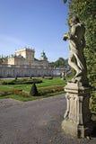 садовничает wilanow статуи дворца Стоковые Фото
