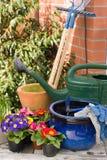 садовничать оборудования Стоковая Фотография RF