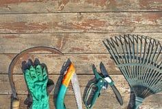садовничая инструменты Стоковые Изображения