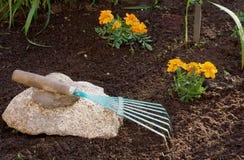 садовничая каменный инструмент Стоковое Изображение