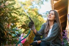Садовничая концепция хобби и отдыха стоковые изображения rf