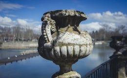 Сады города Аранхуэса, расположенного в Испании Каменный дворец стоковые изображения