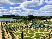 Сады дворца Версаль стоковые изображения