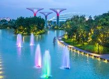Сады заливом в Сингапур Стоковая Фотография RF