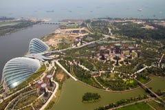 Сады заливом, Сингапур Стоковые Изображения RF