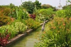 сады канала стоковые изображения rf