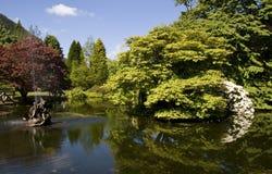 сады benmore ботанические стоковая фотография rf