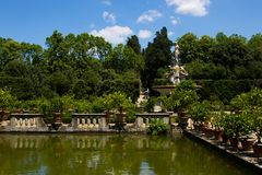 Сады Boboli Стоковое фото RF