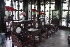 Сады Cang Lang Сучжоу окрашивают стоковые фотографии rf