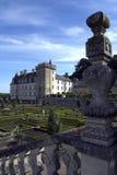 сады loire de Франции замка villandry Стоковое Изображение