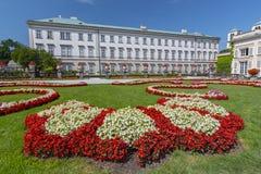 Сады Mirabell и дворец Mirabell, Зальцбург Австрия стоковая фотография