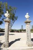 Сад дворца Oeiras Стоковые Изображения