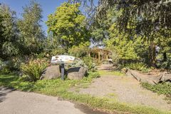 Сад детей в парке Орегоне Стоковое Изображение