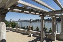 Сад замка в Будапеште стоковая фотография rf