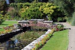 Сад замка Стоковые Изображения