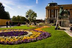 Сад замка Buda, Будапешт стоковое фото