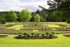Сад замка Drumlanrig, имущество Queensberry, Шотландия Стоковые Фотографии RF