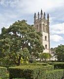 сад замока предпосылки английский старый Стоковые Изображения RF