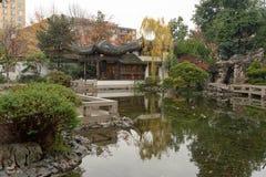 Сад китайца Lan Su стоковые фото