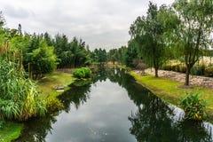 Сад 18 Китая Шанхая ботанический стоковые фотографии rf