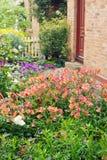 сад коттеджа Стоковые Фото