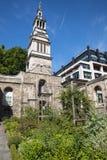 Сад Крайстчёрча Greyfriars в Лондоне Стоковые Фотографии RF