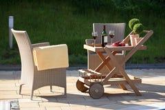 сад мебели стоковая фотография