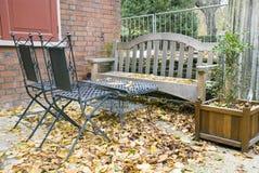 сад мебели стоковые фото