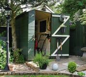 Сад полинянный с инструментами Стоковая Фотография RF