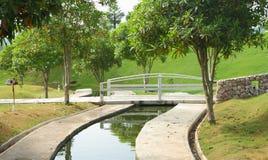 сад расположения красивейший Стоковые Изображения