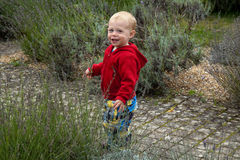 сад ребенка счастливый Стоковые Изображения