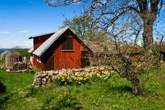 сад сельской местности Стоковые Фотографии RF