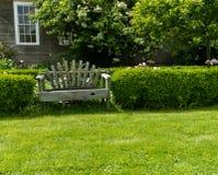сад стенда деревянный Стоковые Фото