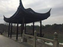 Сад стиля Сучжоу стоковые фото