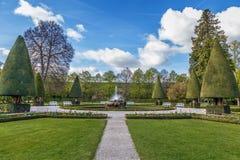 Сад суда резиденции, Wurzburg, Германия Стоковое Изображение RF