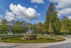 Сад суда резиденции, Wurzburg, Германия Стоковые Изображения RF