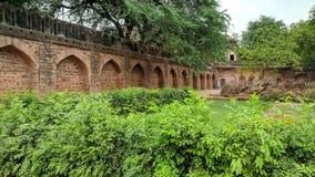 Сад усыпальницы Safdarjung стоковые изображения