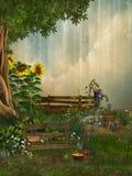 сад фантазии Стоковая Фотография RF