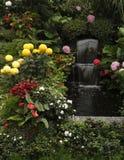 сад фонтана каскада butchard пышный Стоковое Изображение RF