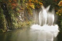 сад фонтана танцульки Канады butchard Стоковые Изображения