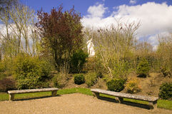 сад 2 стендов Стоковые Изображения RF