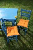 сад 2 стулов Стоковое Изображение RF