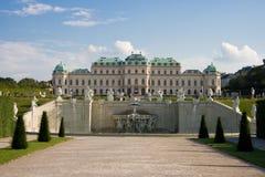 сад belvedere свой Стоковое Изображение