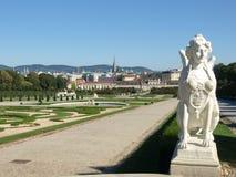 сад belvedere стоковое изображение