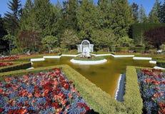 сад buchart Стоковая Фотография